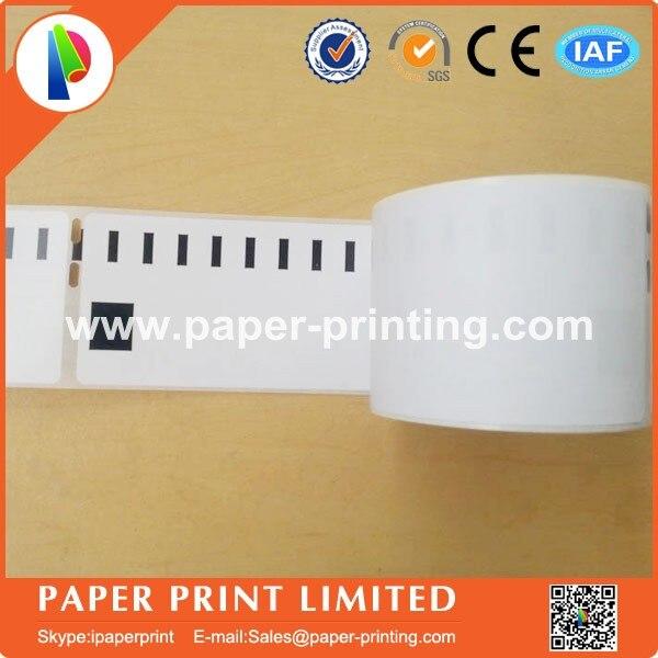 10x Label kompat zu Dymo 99014 54x101mm 220 Label Etiketten pro Rolle