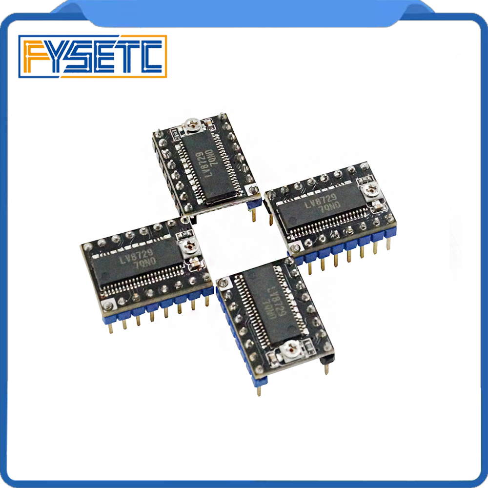 3D Printer Parts 10pcs lot LV8729 Stepper Motor Driver 4 layer PCB Ultra Quiet Driver Module