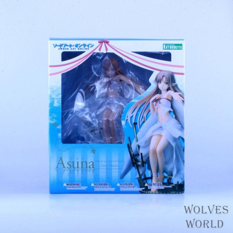 Figurine japon Anime Kotobukiya épée Art en ligne Asuna fée 22 cm PVC Sexy Figure de collection Brinquedos modèle poupée livraison gratuite