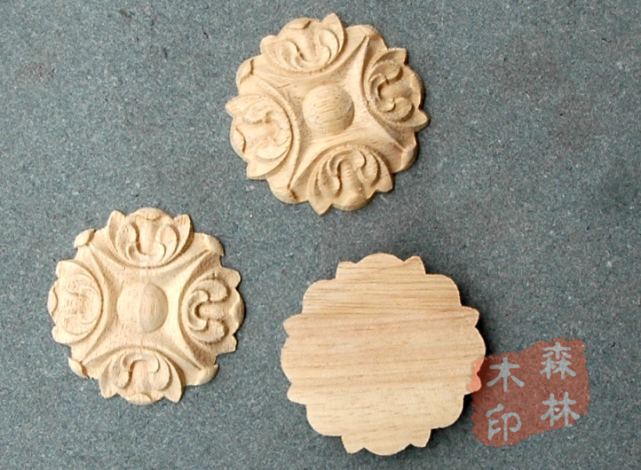 Wood antique furniture dongyang carving motif