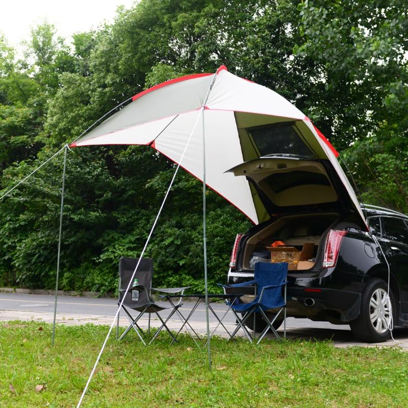 5 8 Mensen Ultralight Regen Proof Draagbare Outdoor Camping Zon Onderdak Van Self Driving Tour Barbecue Strand luifel Tent 2.4*1.9*2M