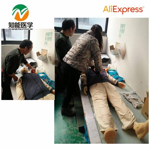 BIX/CPR480 Adult Full Body Electronic CPR  Manikin Model Medical Model W017 iso adult obstruction model cpr and choking manikin cpr manikin