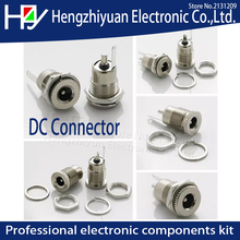 цены на Hzy 5.5 mm x 2.1mm DC Power Jack Socket Female Panel Mount Connector  C1Hot New Arrival DC 5A 30V 5.5 mm x 2.5mm  Waterproof cap  в интернет-магазинах
