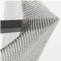 Фартук из нержавеющей металлической сетки 60x85 см