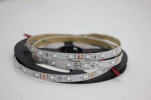 Image 4 - Tira de luces led UV para DJ, tira de luces led UV de 395 405nm ultravioleta 2835/3528 SMD 5050 60led/m, Flexible, tira de cinta, lámpara de 12V para fiesta fluorescente DJ