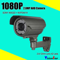 High Definition Camera 42pcs Ir Leds 40 Ir Distance 0 001lux Metal Osd Menu Sony Imx322