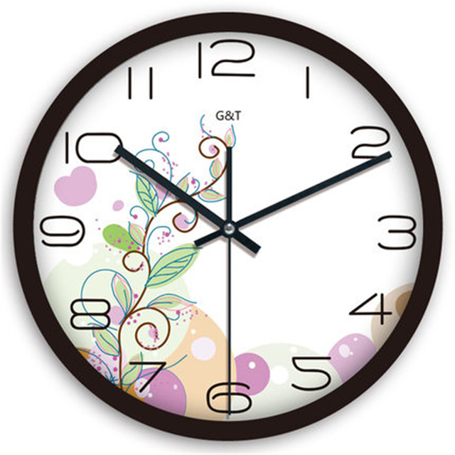Modern Large Wall Clock Movement Living Room Decor Home Design ...