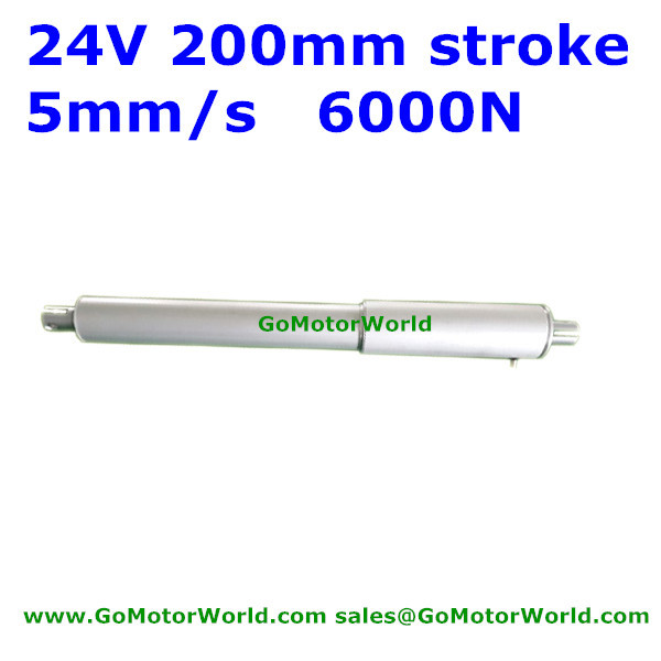 6000N Linearantrieb 5 Mm // S Hub 100 Mm 4 Zoll 12 V Gleichstrom bo