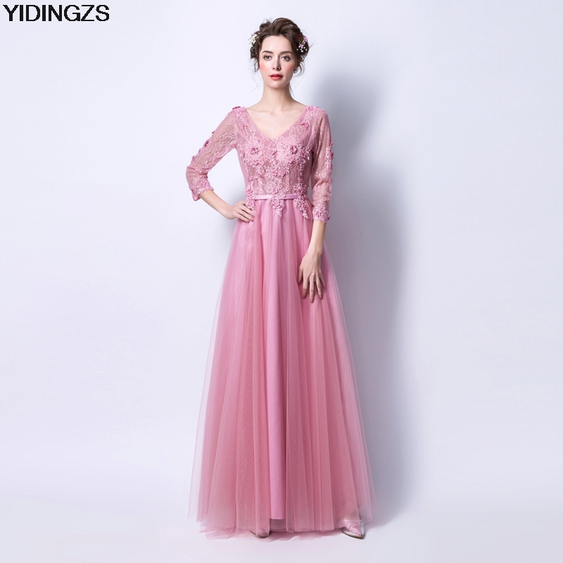 Dark Pink Wedding Dresses