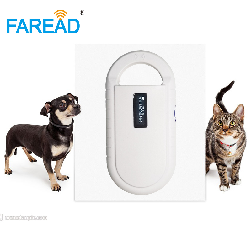 FDX-B Animal Chip Scanner High Sensitive Reader USB + Free Sample X1pc Glass Tag