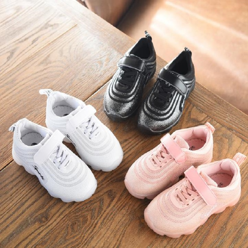 wan185 Sneakers Top Fashion Unisex Latex 2018 Spring New Kids Shoes Handmade Slip Casual Children shoes