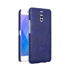 For Meizu m6 note case Luxury Crocodile Skin PU leather Protective Cover Case M6 Note for Meilan 6