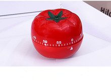 1PC New Kitchen Timer Fashion Cute Indoor Tomato Mechanical Countdown Reminder Cooking Tools OK 0593