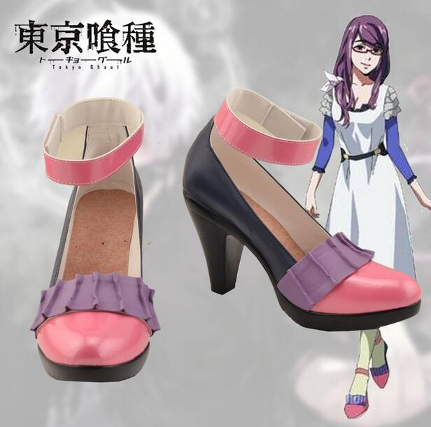 Anime Tokyo ghouls Kirishima lolita punk Touka punk japanese single shoes Kamishiro Rize shoes