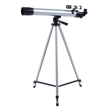 High Quality 100 Times Astronomical Telescope F60050 with Portable Tripod HD Monocular Refractive Astrophile Beginner Gifts цена и фото