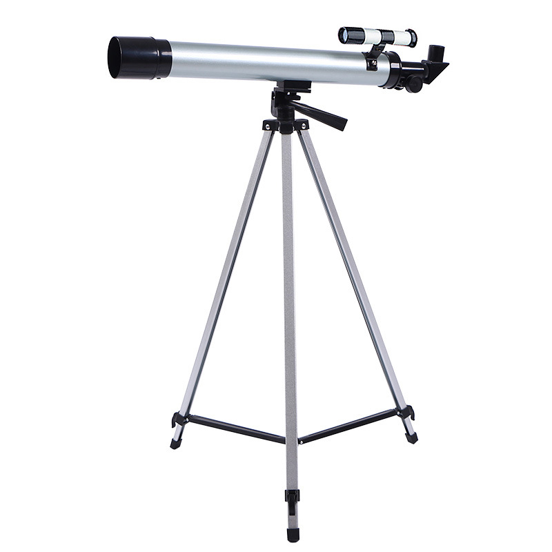 High Quality 100 Times Astronomical Telescope F60050 with Portable Tripod HD Monocular Refractive Astrophile Beginner Gifts