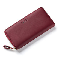 Forever Young Wallet Women Female Purse Lady Long Clutch Large Card Holder Pu Leather Handy Bag