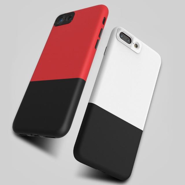 Para el iphone 6 Caja de Metal patrón de dibujo de Dos Costuras de ...
