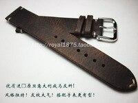 18 19 20 21 22mm Watch Band Strap For Seiko for Tissot Omega Female Watch Belt Bracelet Men's Women Retro Genuine Leather Strap
