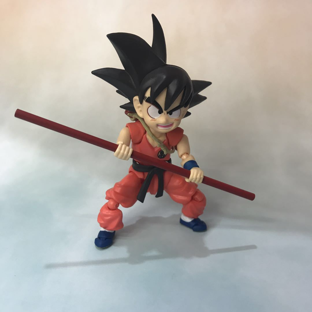 Dragon Ball Young Son Goku on Flying Nimbus Action Figure 12