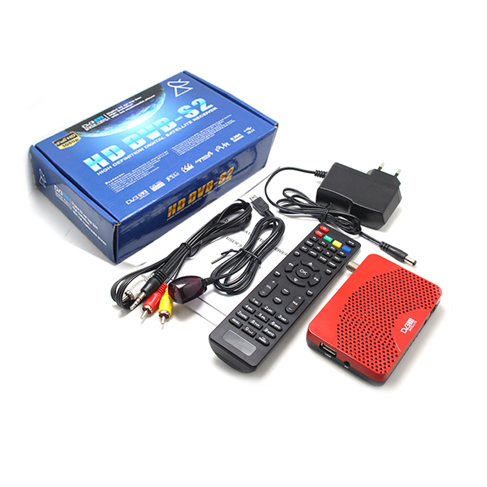 Image 5 - Vmade high digital Satellite Receiver DVB S2 mini full HD 1080P TV Tuner USB 2.0 support Biss Youtube Multi language DVB TV BOX-in Satellite TV Receiver from Consumer Electronics
