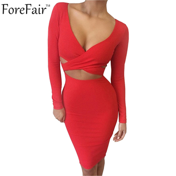Blue Black White Long Sleeve Elastic Cotton Warm Winter Elegant Party Dresses 2015 Sexy Midi Pencil Club Bandage Bodycon Dress