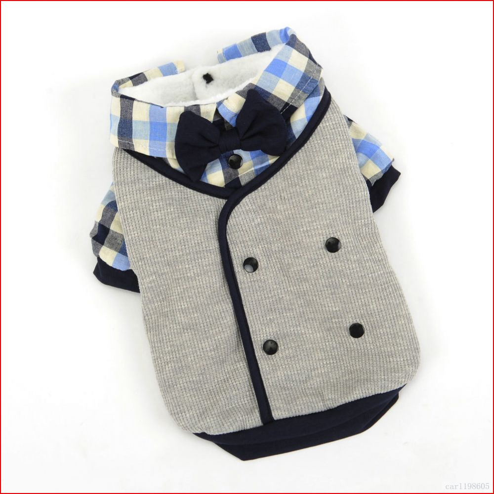 Male Dog Clothes Winter Boy Dog Wedding Suit tuxedo Shirt ...
