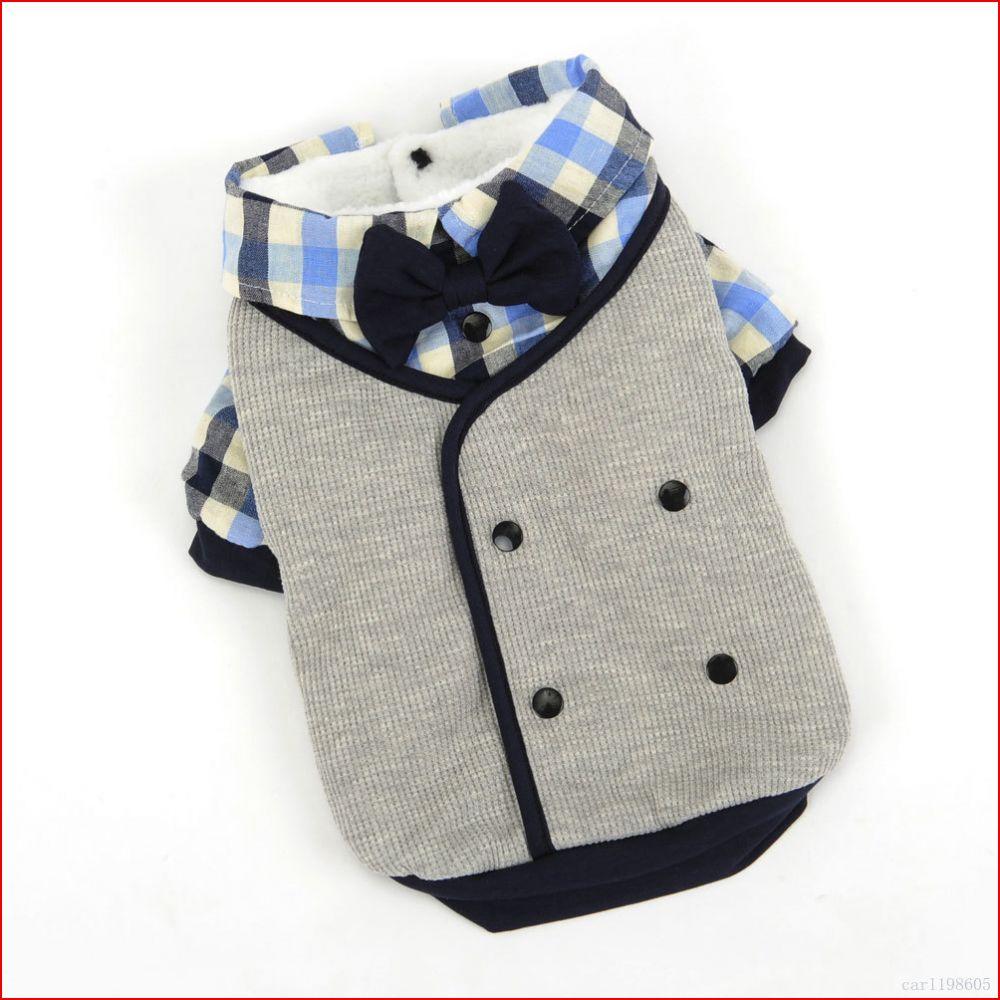 Male Dog Clothes Winter Boy Dog Wedding Suit tuxedo Shirt ...