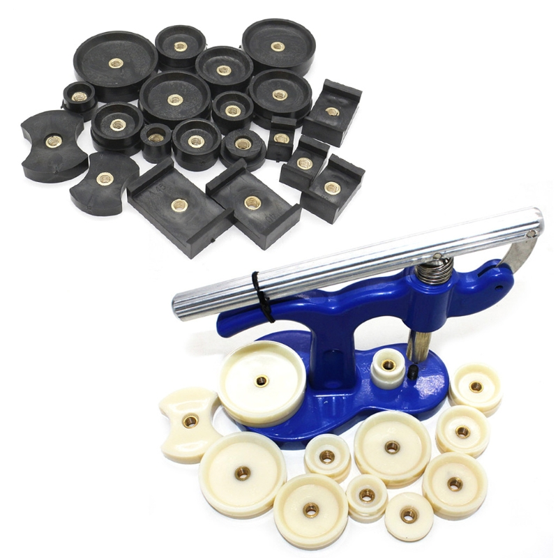 Free delivery 20 Pcs Watch Back Press Fitting Dies Repair Kit Round RectangularFree delivery 20 Pcs Watch Back Press Fitting Dies Repair Kit Round Rectangular
