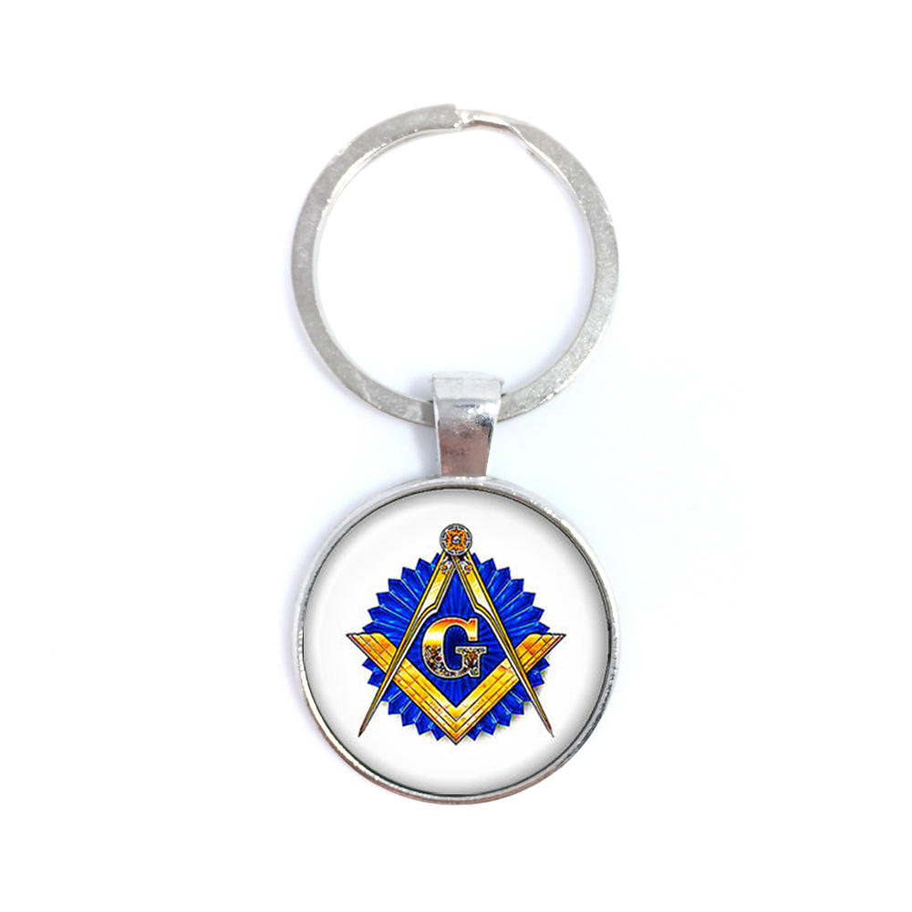 -Mason брелок свободный и признанный масоны брелок для Для женщин и Для мужчин издевалис ...