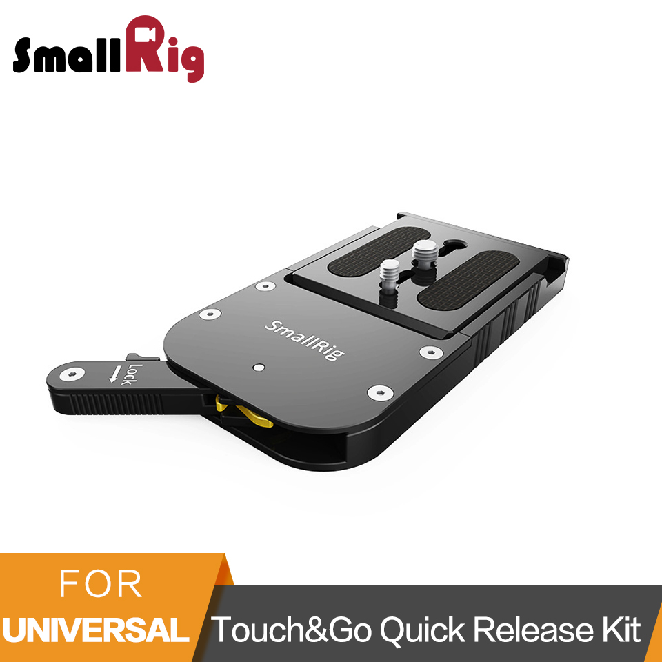 SmallRig Touch and Go Quick Release Kit For Sachtler 16 /O'Connor Euro 80mm /Ronford Baker RBQ 80mm 2128