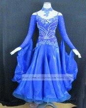 Modern Waltz Tango Ballroom Dance Dress, Smooth Ballroom Dress,Standard Ballroom Dress Girls B-0135