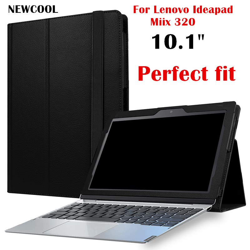 Miix325 Business Style Leather Case (can put keyboard) For Lenovo Ideapad Miix 320 MIIX320-10ICR 10.1 Tablet Case Flip Cover litchi pu leather cover for lenovo ideapad miix 310 10icr miix310 miix 310 10 1 tablet case with stand can put keyboard