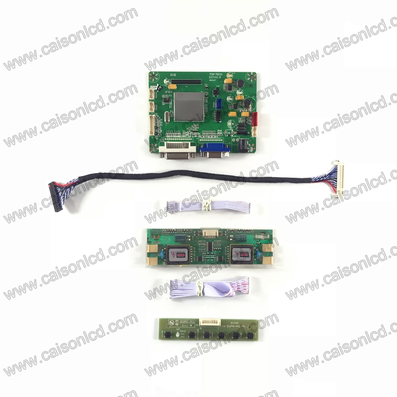 TP2271 LCD controller board support DVI VGA for LCD panel 19 inch 1280X1024 LTM190E4-L02 LTM190EP01 LTM190E4-L32 G190EG01 V0 V2 g190eg01 v 1 g190eg01 v1 lcd display screens