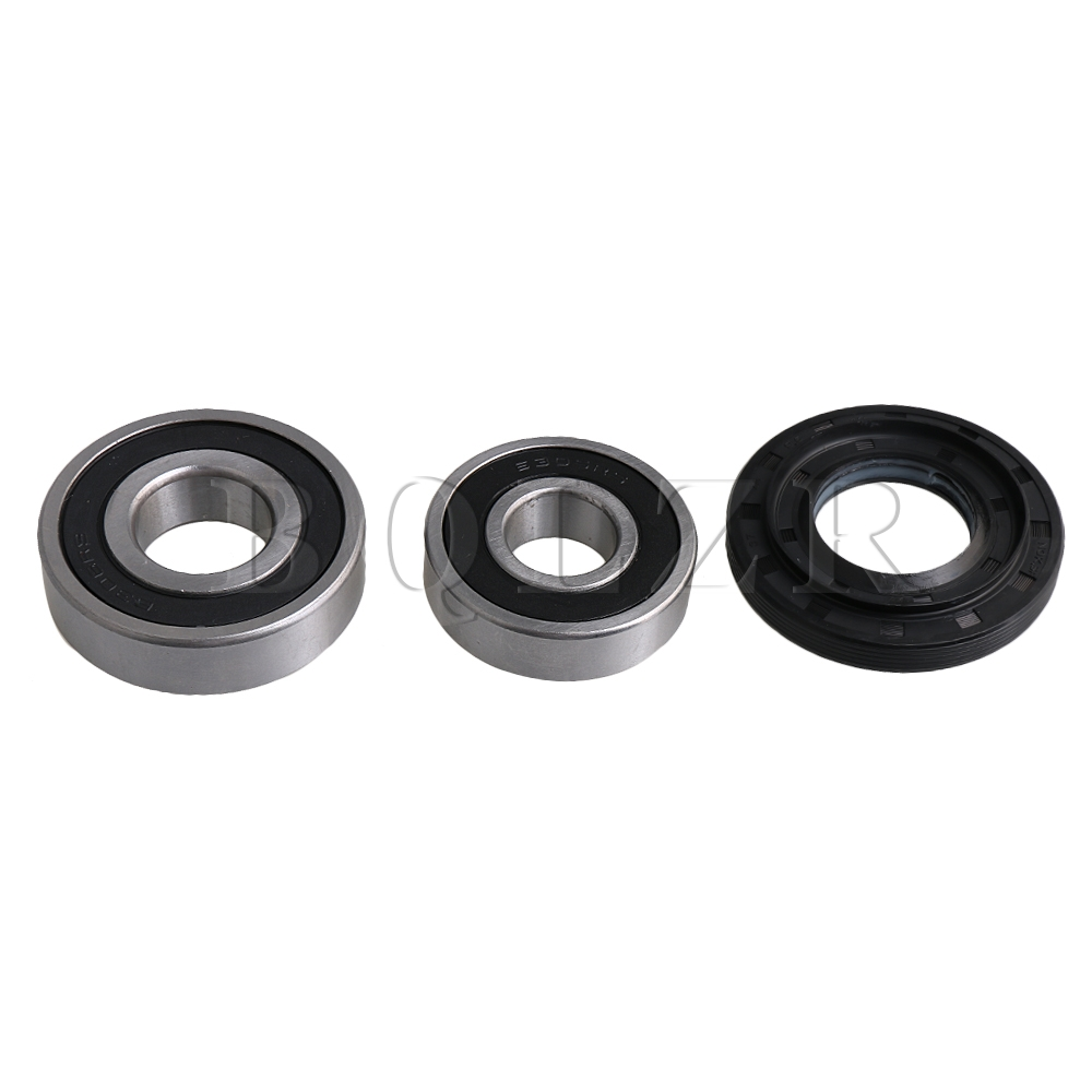 BQLZR Silver Washer Tub Bearings and Black Seal Ring Kit Washing Machine Seal Set Parts Number 4036ER2004A футболка toy machine seal black