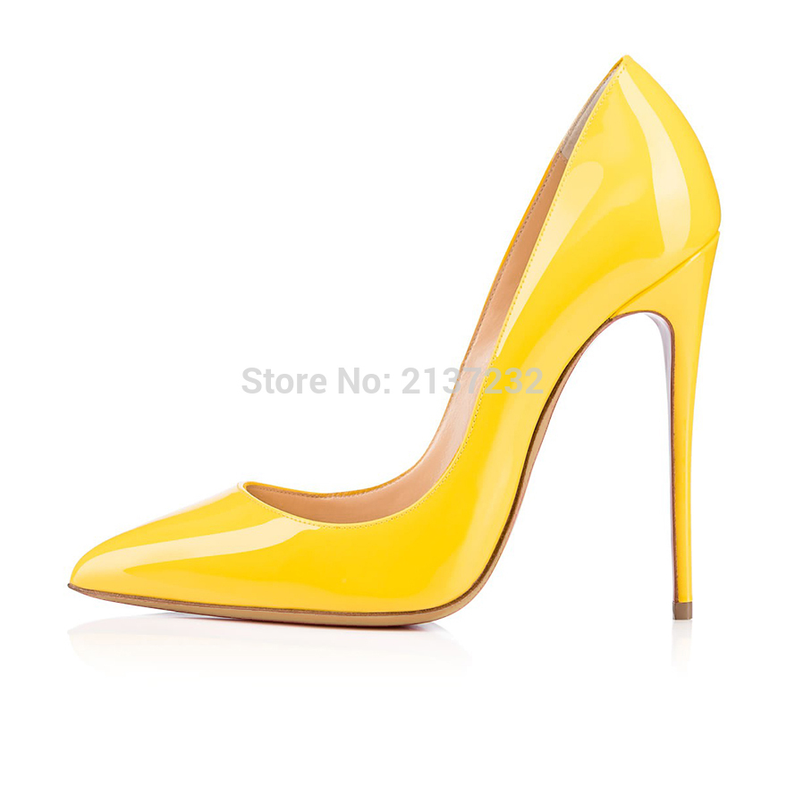 2016 Solid color Stiletto women high heels ladies evening shoes customize slip-on Pointed Toe Pumps bridal shoes big size5-15 2016 new fashion stiletto high heel women shoes rivet studed winter ladies boots lace up customize madam pumps big size4 15