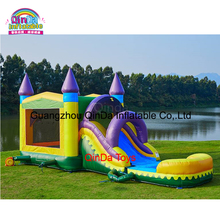 Commercial Kids Inflatable Combo Bounce House Jumping bed Bouncy castle for event