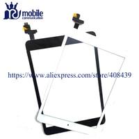 5 adet 100% Test Mini 1 2 Dokunmatik Panel iPad Mini Için 1 Mini 2 Dokunmatik Ekran Digitizer + IC Bağlayıcı Ana Düğme Meclisi sticker