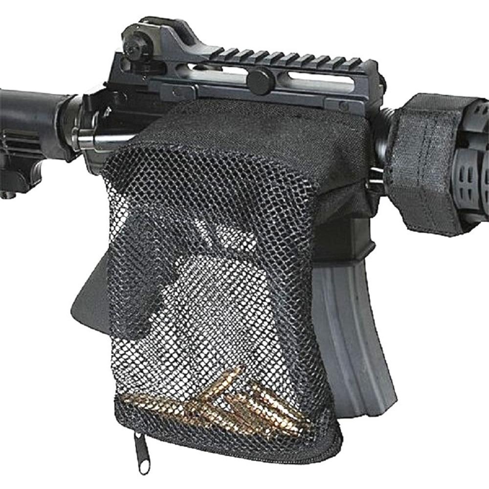 Tactical Rifle Brass Shell Catcher Zippered Closure Quick