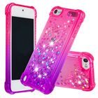Gradient Quicksand Prevention of falls Cases For Apple ipod Touch 5/Touch 6 Fashion Girl Phone Cover