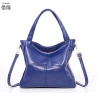XIYUAN BRAND New female package LADY Shoulder Bag Korean splicing large white handbag crossbody bags messenger bag handbags blue
