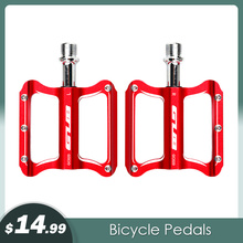 GUB Ultralight CNC 2 Colors Bicycle Pedal Aluminum Anti-slip MTB Mountain Bike Pedal Sealed Bearing Pedals Bicycle Accessories 2018 bicycle pedal anti slip ultralight cnc mtb mountain bike pedal sealed bearing pedals bicycle accessories