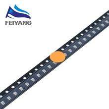 1000 Uds 0805 2012 diodos LED parpadeantes naranja parpadeantes luz de vela Diodo Emisor parpadeante Flash parpadeante Diodo LED ámbar
