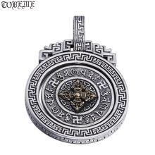 Новинка 100% серебро 925 пробы тибетская подвеска с шестью искусственными