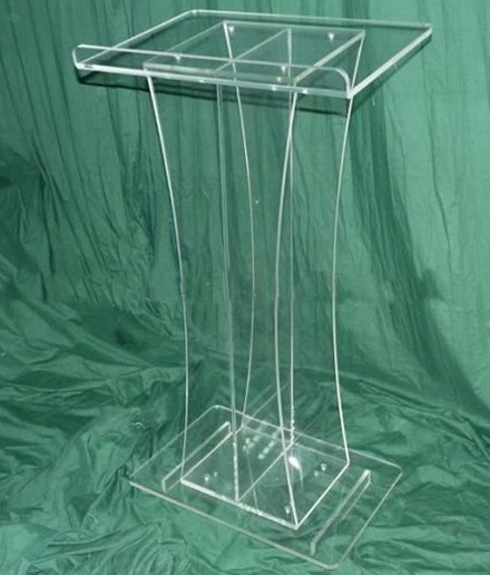 Free Shipping clear retail podium church / cheap clear pulpit of the church free shipping organic glass pulpit church acrylic pulpit of the church