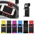 Новейший Универсальный Рулевого Колеса Автомобиля Держатель Резинкой Для Iphone 6 Plus 4 5S Для Samsung S6 Galaxy S5 s4 Note 3 4 Автомобильный GPS