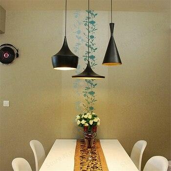レトロ金属ペンダントライトランプ有名なデザイン Hanglamp Industriel LED 家庭用照明器具キッチンアンバーロフトランプ