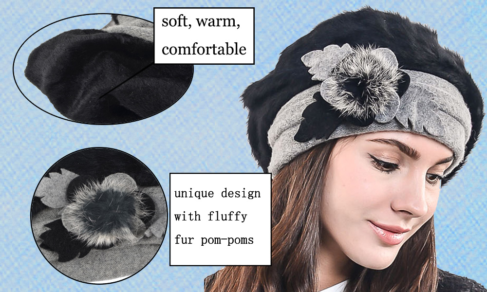 0f4aa546b0e Detail Feedback Questions about Lady French Beret Wool Beret Womens ...
