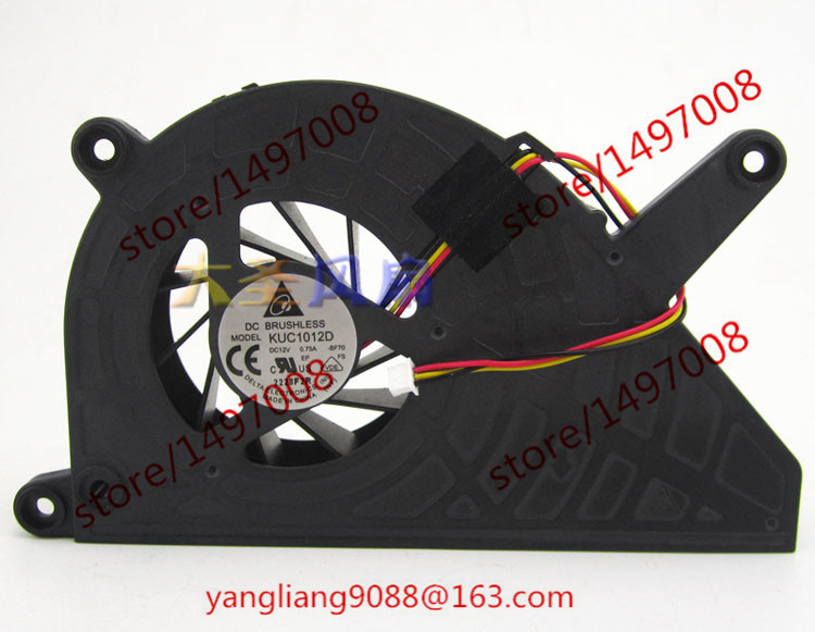 Delta KUC1012D, -BF70 DC 12V 0.75A 3-wire 3-pin connector 55mm Server Laptop Cooling fan вешала hotata d 1011 d 1012