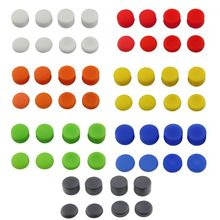 VPLAY 8pcs Silicone buttons Thumb Stick Grips Cover for Playstation 4 PS4 Pro Slim for PS3 Thumbstick Caps for Xbox 360